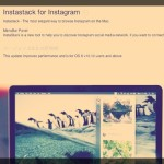 MacでInstagramをチェックしよう!使ってて楽しいMac版Instagram用アプリ「instastack for instagram」が無料セールを実施中!