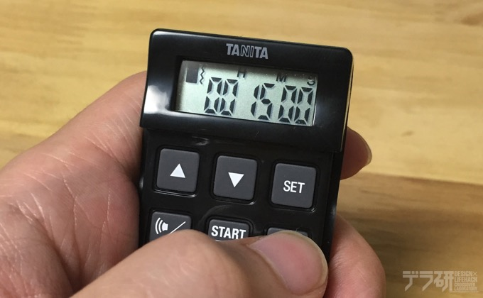 TD-370N_タイマー表示