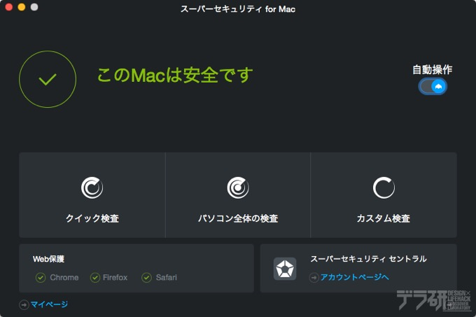 スーパーセキュリティ for Mac