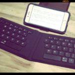 折りたたみキーボードがある風景【デジタル寅さん/ある日の仕事場の風景】