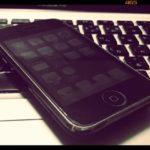 iPhone3G(MB496J)が手元に帰ってきた生活【デジタル寅さん/ある日の仕事場の風景】