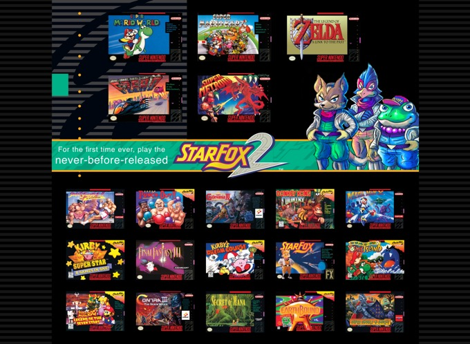 Super Nintendo Entertainment System™ Super NES Classic Edition Official site